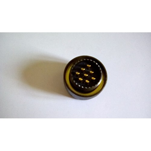 MILITARY CONNECTOR FREE 8 PIN FEMALE SOCKET